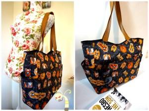 Poison Ivy Shoulder Bag, Bucket bag