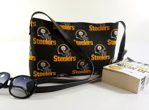 Pittsburgh Steelers NFL Black Cross body