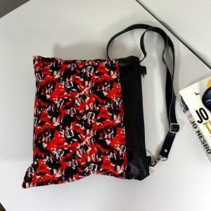 Harley Quinn Black & Red shoulder/cross body bag