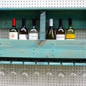8 Glass Wine Racks