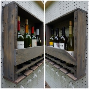 Rustic Wine Racks