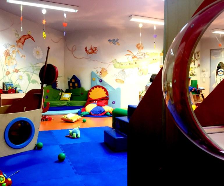 Ein Paradies für die Kleinsten: der Babyclub. © Nina-Carissima Schönrock