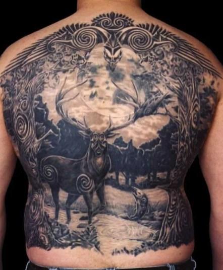 Celtic Backpiece