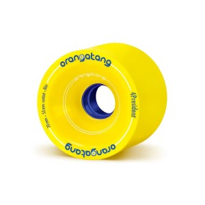 70mm Orangatang Wheels For President Yellow