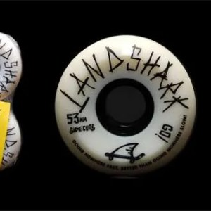 53mm Landshark Wheels Sidecuts 97A
