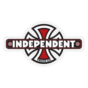 Independent Red OGBC Sticker