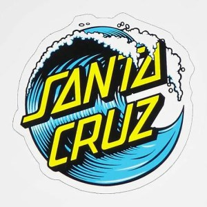 Santa Cruz Wave Sticker