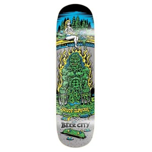 8.25″ Beer City Smiley Deck