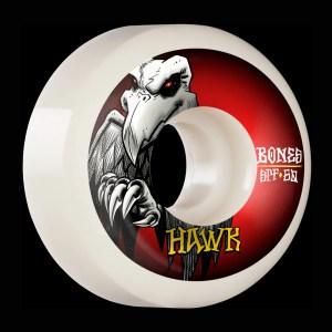 60mm Bones Wheels Pro Hawk Falcon II P5 Sidecut Skatepark Formula