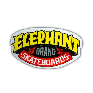 Elephant Skateboards Sticker