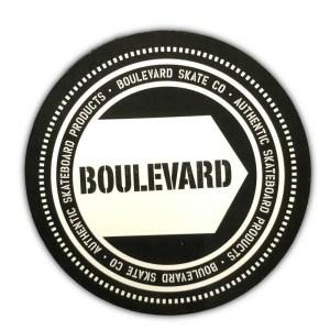 Boulevard Skate Co Sticker Round