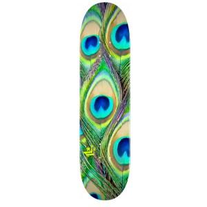 7.75″ Mini Logo Peacock Feather Deck