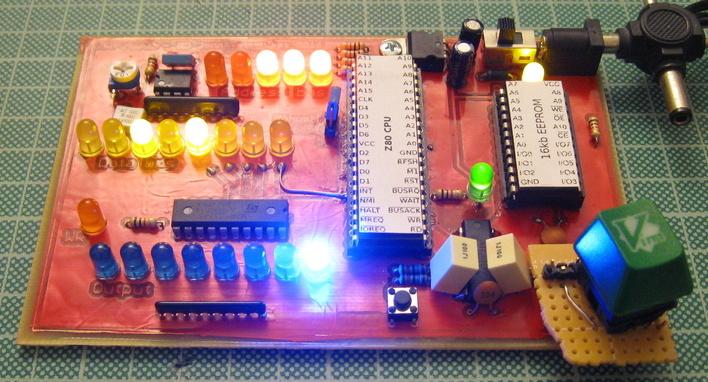 rudimentary Z80 8-bit computer