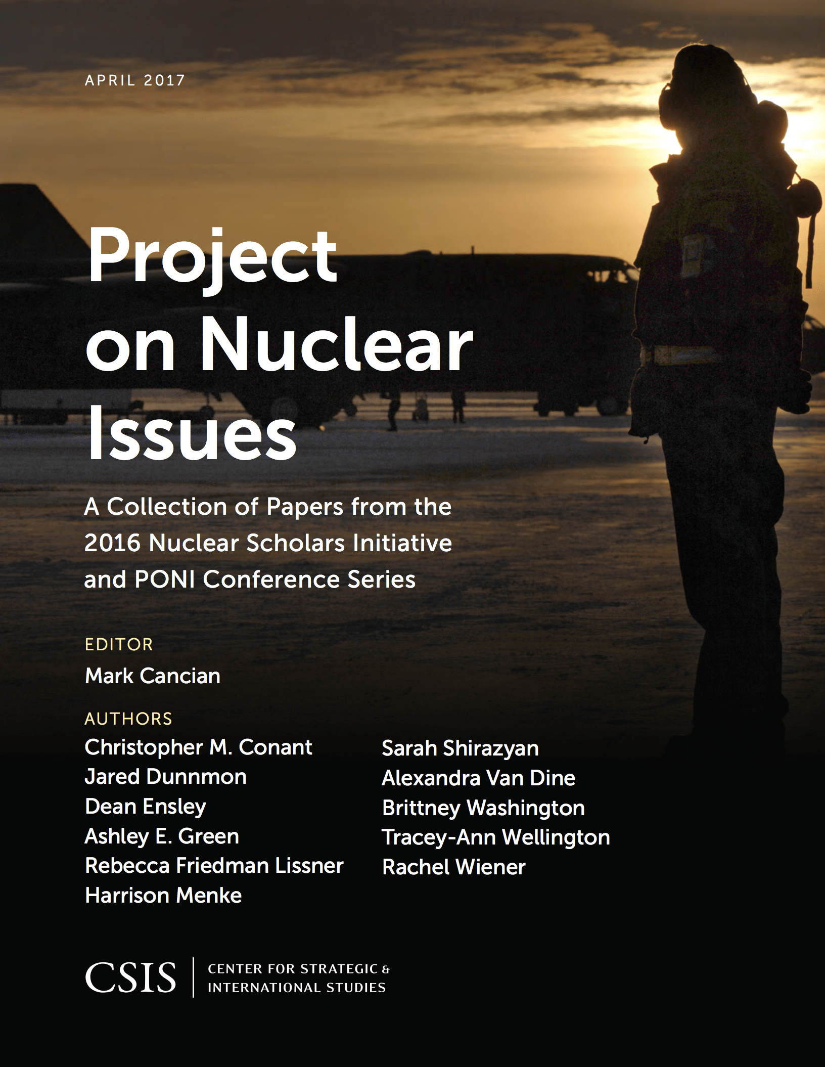 Project on Nuclear Issues 2016 Nuclear Scholars Initiative