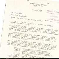 Walter Zinn memo to Leonard Koch