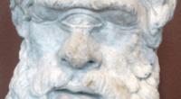 Ο Κύκλωπας Πολύφημος, κεφαλή από τη Θάσο, πιθανόν 2ος αιώνας π.Χ.