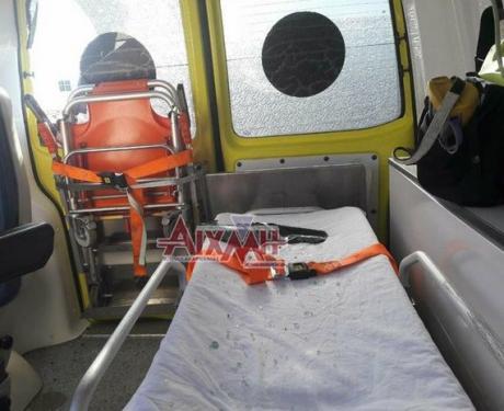 Έσπασαν ασθενοφόρο του ΕΚΑΒ στο Μεσολόγγι