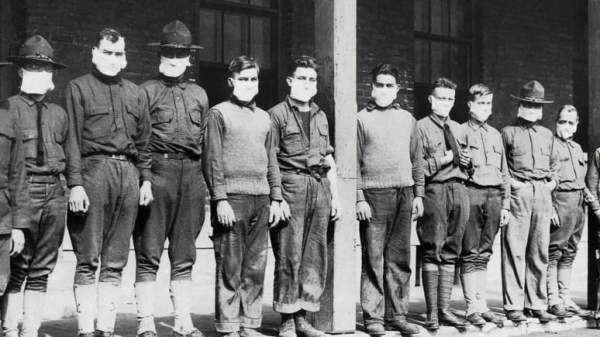 Γρίππη 1918 - Πανδημική εξάπλωση (Καναδάς)