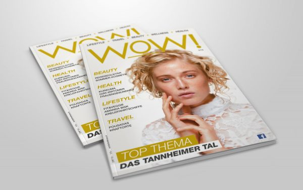 Lifestylemagazin WOW Nr. 03/16