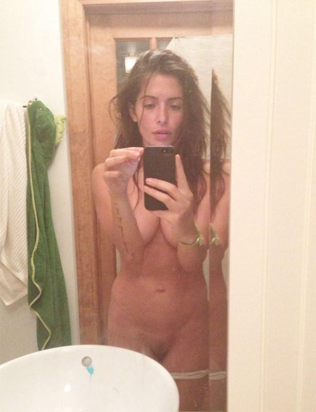 Actress Sarah Shahi Leaked Nude Selfies