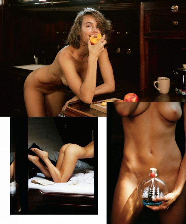 Johanne Landbo Nude Sailing for Playboy (9 Photos)