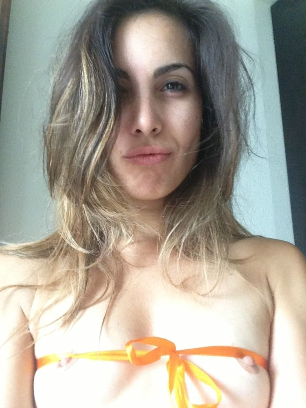 Arrow TV series actress Carly Pope The Fappening leaks nude and masturbation videos