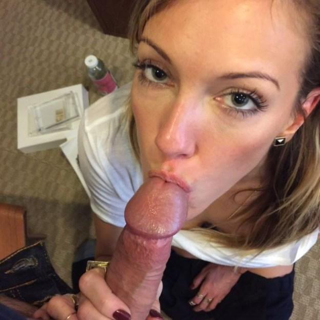 Katie Cassidy nude blowjob photos