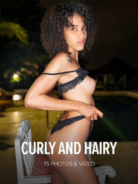 Watch4Beauty – Abril – Curly And Hairy