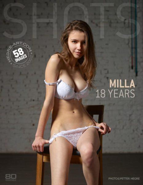 Hegre-Art – Milla 18 years