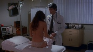 Barbi Benton topless in white panties