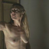 Dominique Swain nude in Nazi Overlord (2018) 1080p Blu-ray Remux