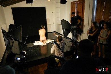Worshop by Fidel Comas Nude Light Master Class – Photo Manuel Torres