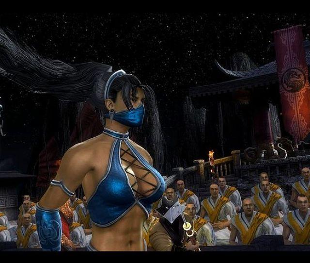 Naked Kitana Sexy Outfit For Mortal Kombat Komplete Edition Pc Version Mk9