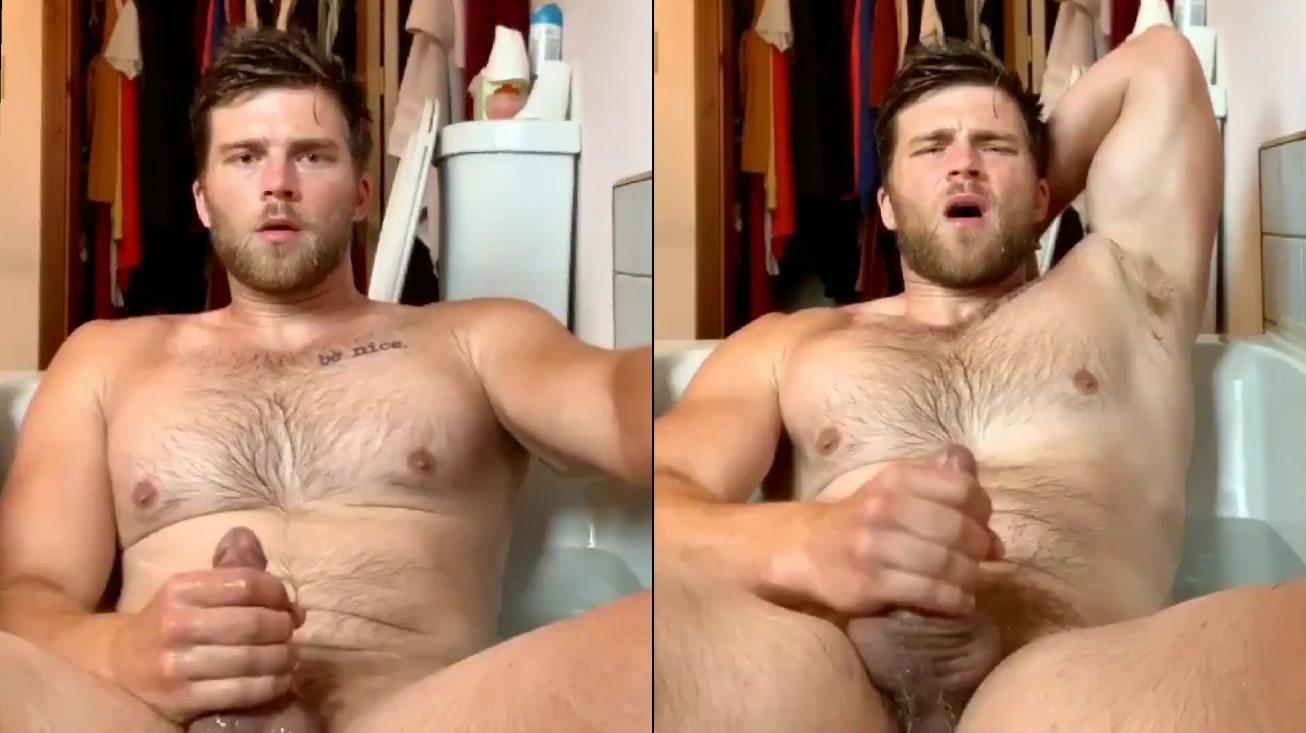 Alex Lederman gozando na banheira – OF