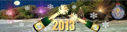 28, 29 y 30 de diciembre de 2012: Fin de Año. Este paseo, celebradoen la hermosa Playa de Monomanso, resultó uno de los mas emotivos del año. Los brindis, abrazos de solidaridad y buenos augurios para el nuevo año se extendieron durante todo el fin de semana.Nos acompañó un excelente clima, con un radiante sol y una espectacular luna llena, que hicieron brillar las emociones y alegrías de los participantes.
