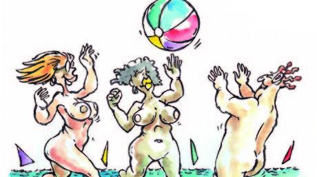 Sexo y ropa quedan fuera del mundo nudista