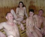 Silverleigh Naturist Club sauna