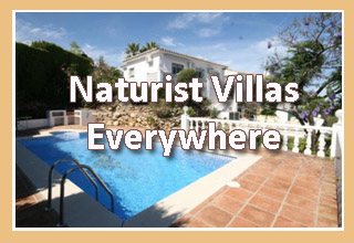 Villas suitable for naturists and naturism