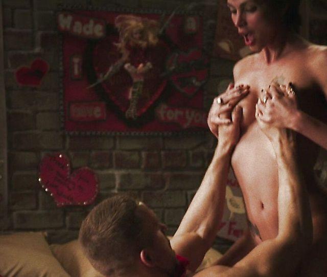 Morena Baccarin Nude Scenes In Deadpool 2016