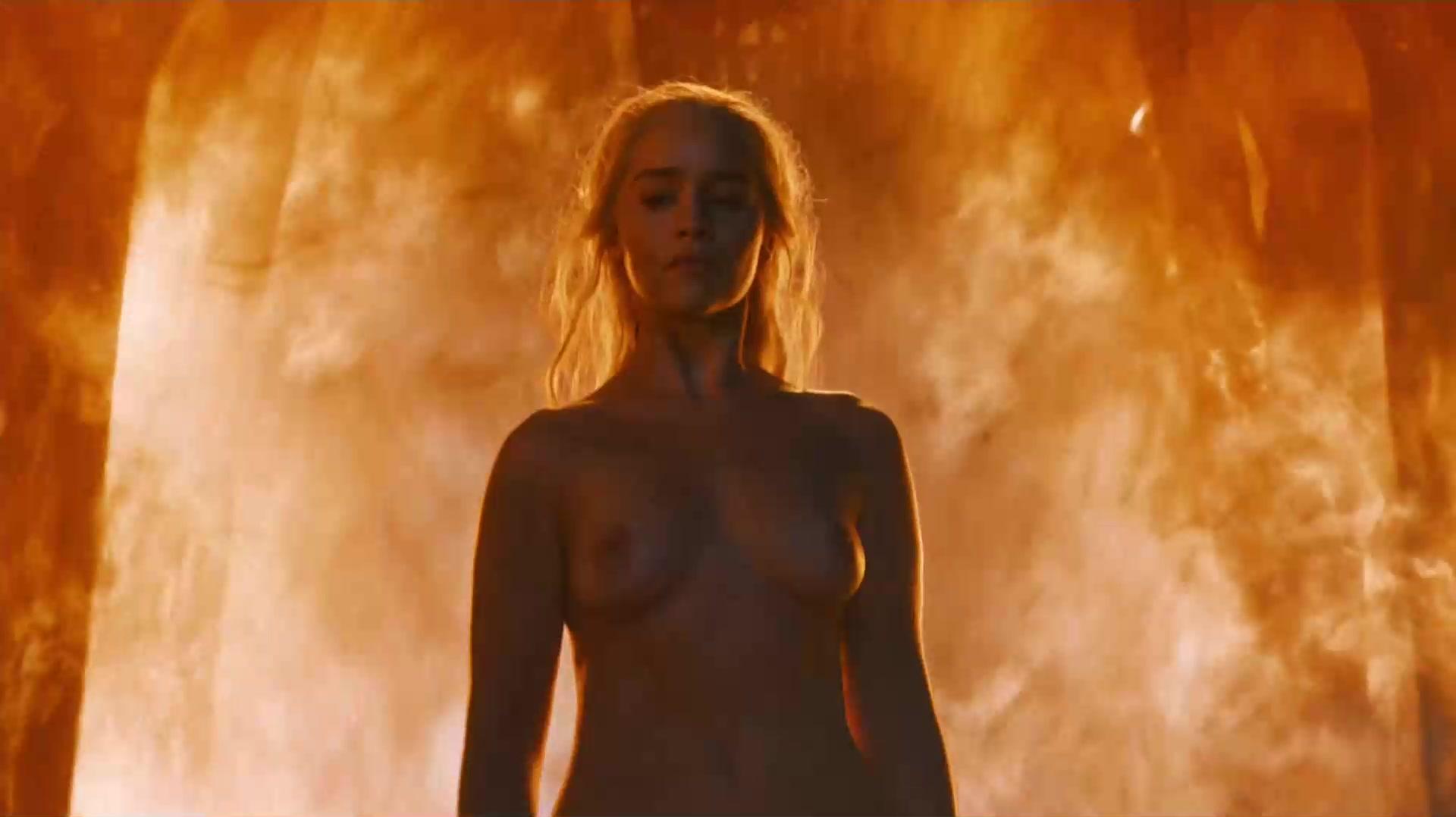 Emilia Clarke Nude Game Of Thrones 2016 S06ep