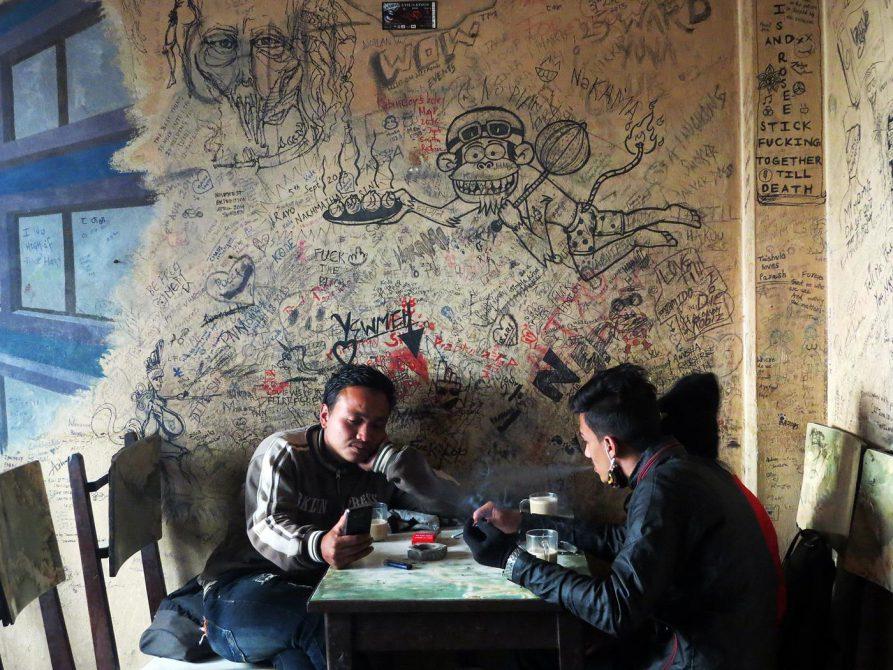 Snow Man Cafe, Freak Street, Kathmandu