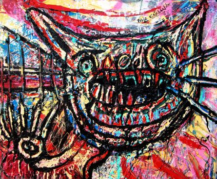 Poes_60x50_Oil on Canvas_Pablo Esteban