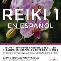 05-03-2016- Curso de Reiki 1 ( en Nijmegen o la Haya).