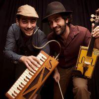 04-09-16 Fetén Fetén- Concierto de música popular con instrumentos insolitos en Utrecht.