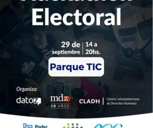 Primer Hackathon Electoral en Mendoza