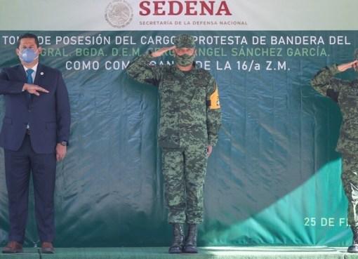 Llega nuevo mando militar a Guanajuato