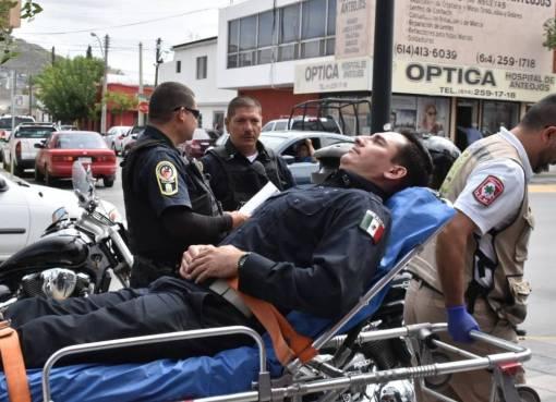 Alcaldesa y SSPL condenan ataques contra tres policías
