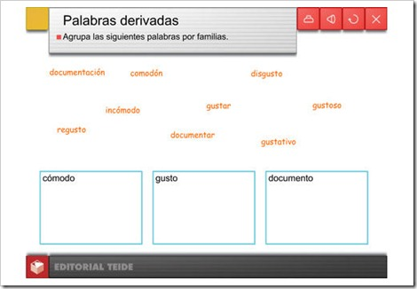 PALABRAS PRIMITIVAS Y DERIVADAS (6/6)