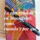 La observación en Montessori: cómo, cuándo y por qué