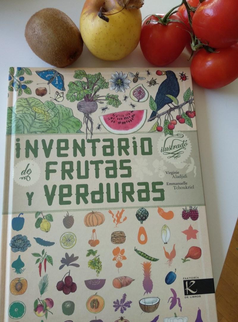 inventario ilustrado de frutas y verduras kalandraka